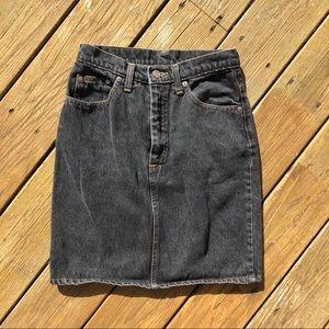 Dresses & Skirts - High waisted cotton jean skirt